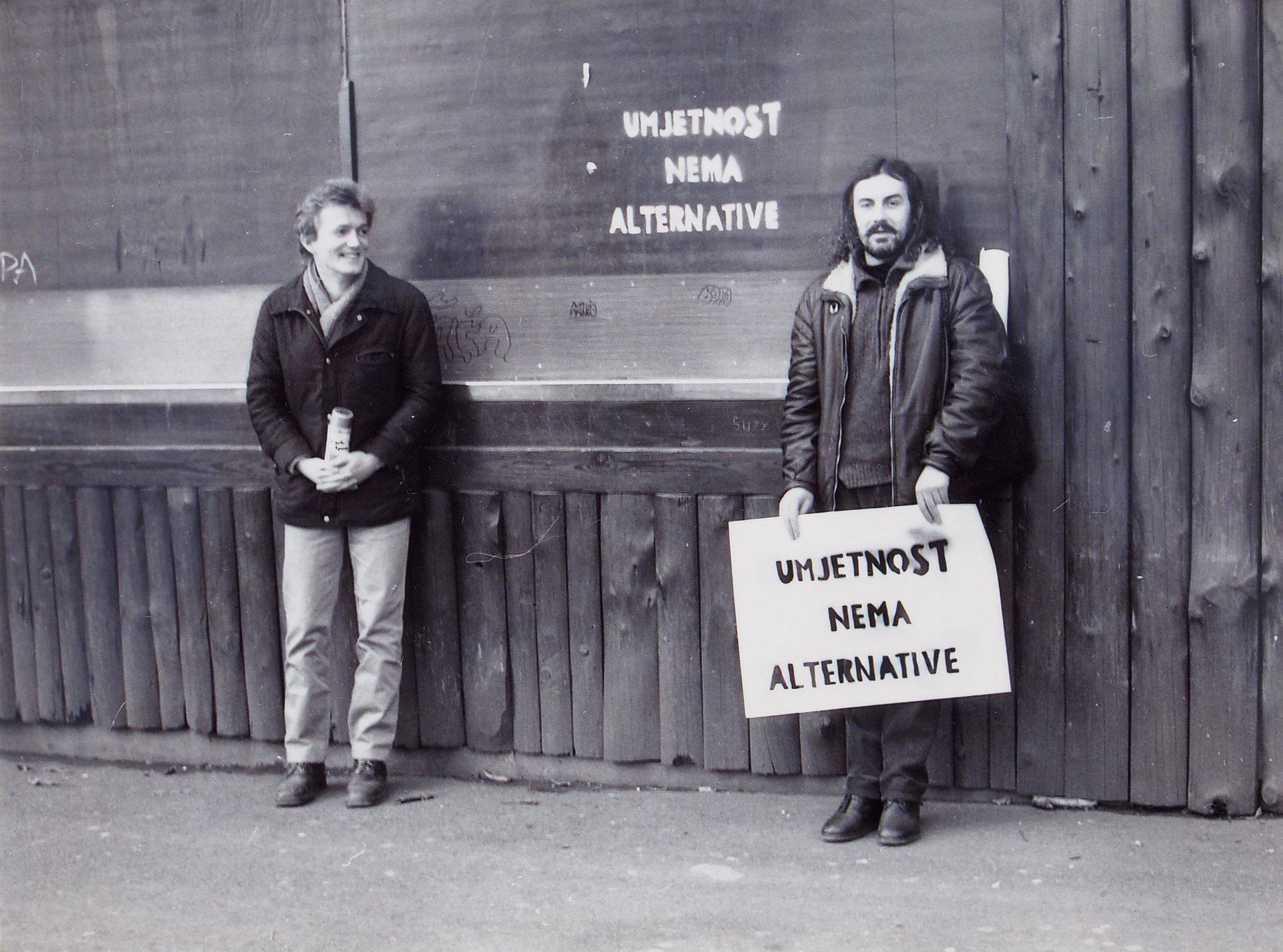 Vlado Martek, Action: Art has no Alternative, 1986