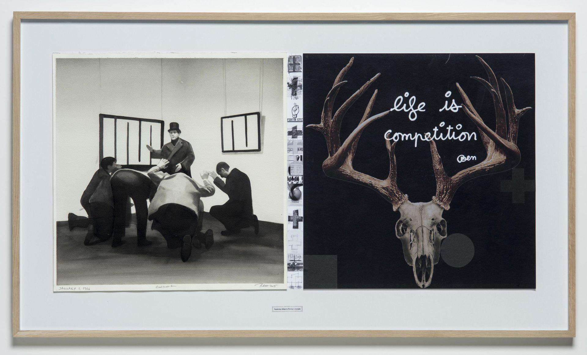 Radenko Milak, Roman Uranjek, Dates, January 01 1966, Gorgona, 2015