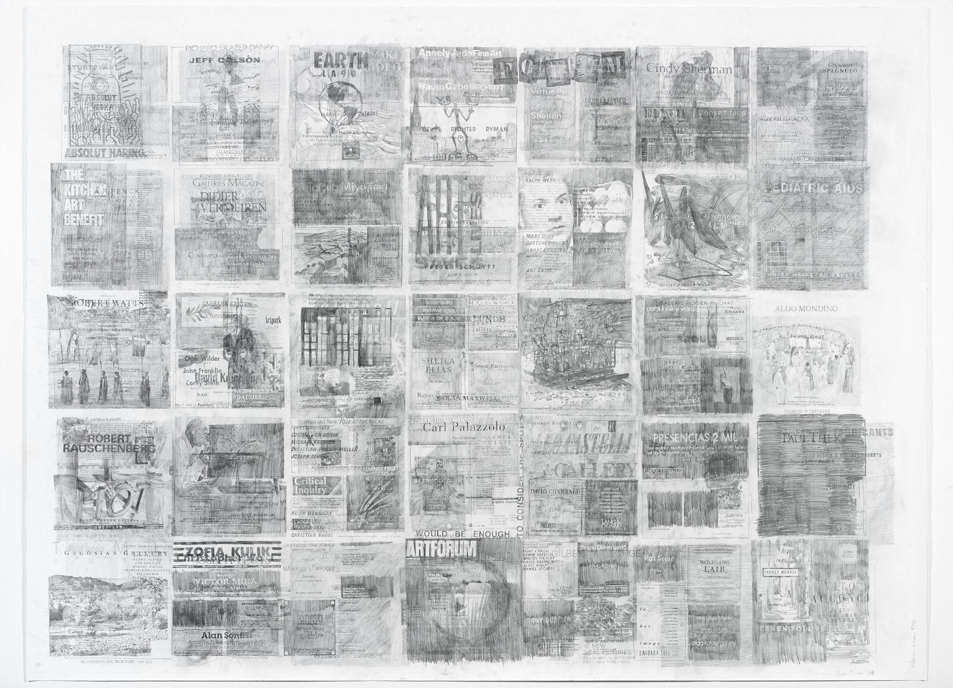 Ciprian Mureşan, Palimpsest, Artforum September 1990, 2016