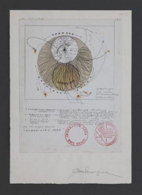 Paul Neagu, Cosmosizing Man (Impulses & Vectors), 1968–1975