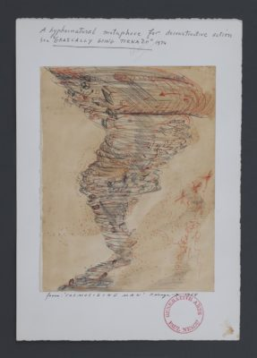 Paul Neagu, Gradually Going into Tornado, 1974