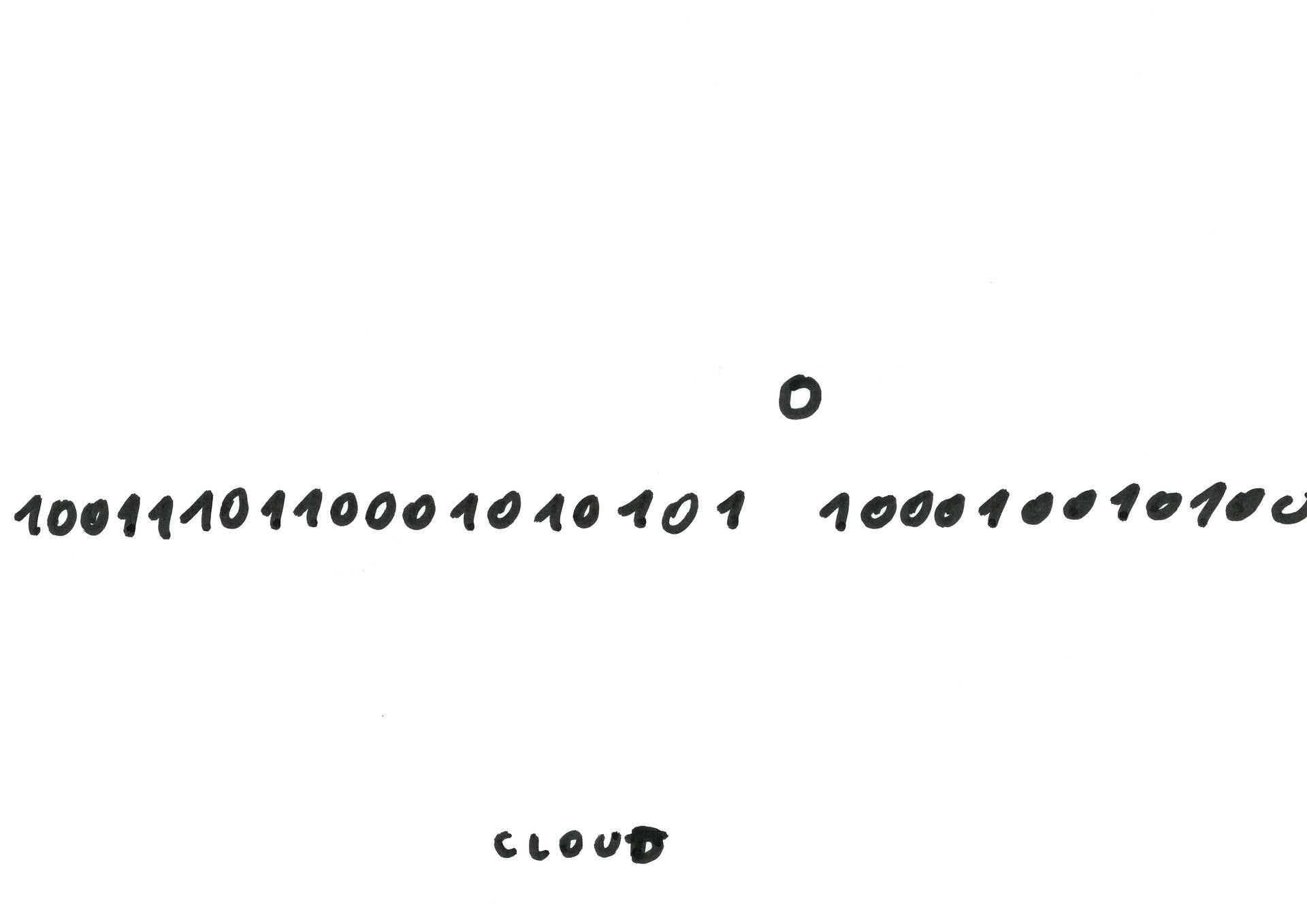 Dan Perjovschi, Come Cloud With Me (01/20), 2012
