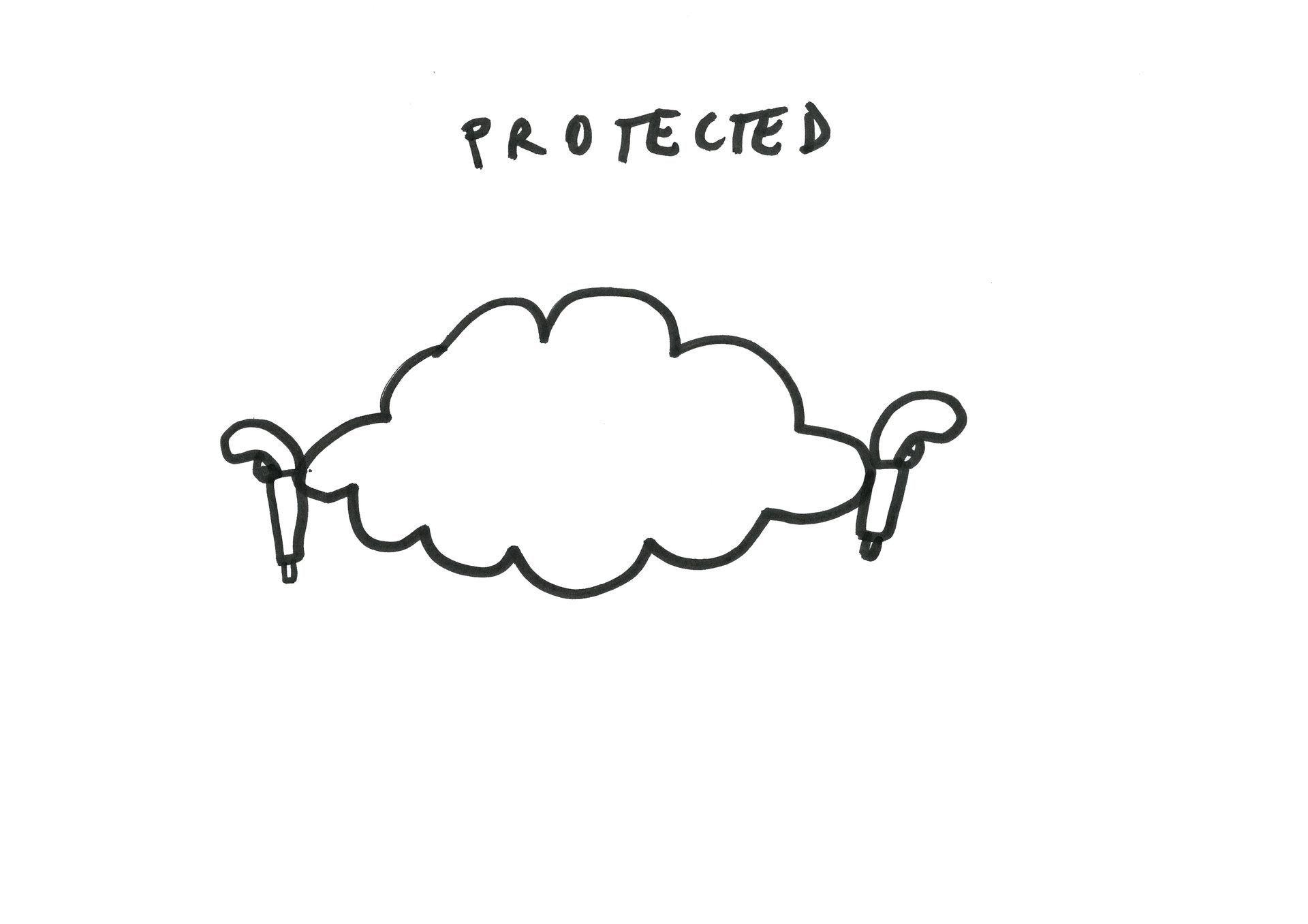 Dan Perjovschi, Come Cloud With Me (09/20), 2012