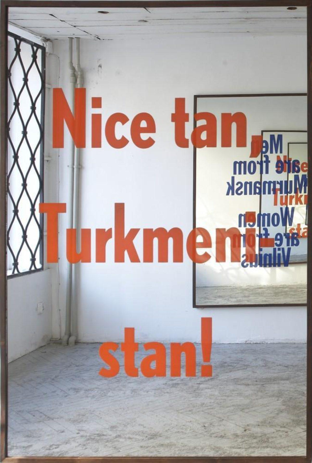 Slavs and Tatars, Nations 2 (Nice tan, Turkmenistan), 2012