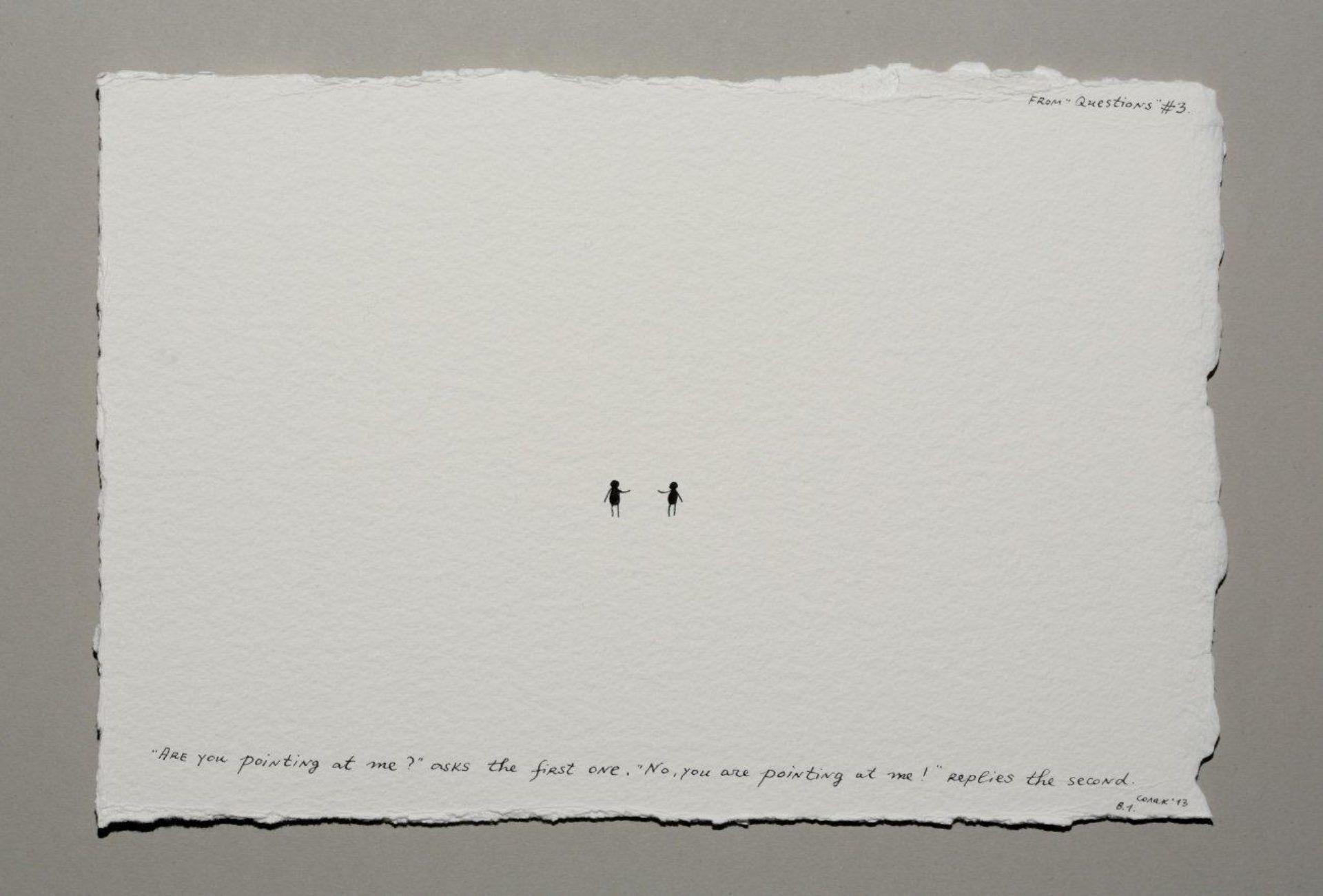 Nedko Solakov, Questions (3/12), 2013