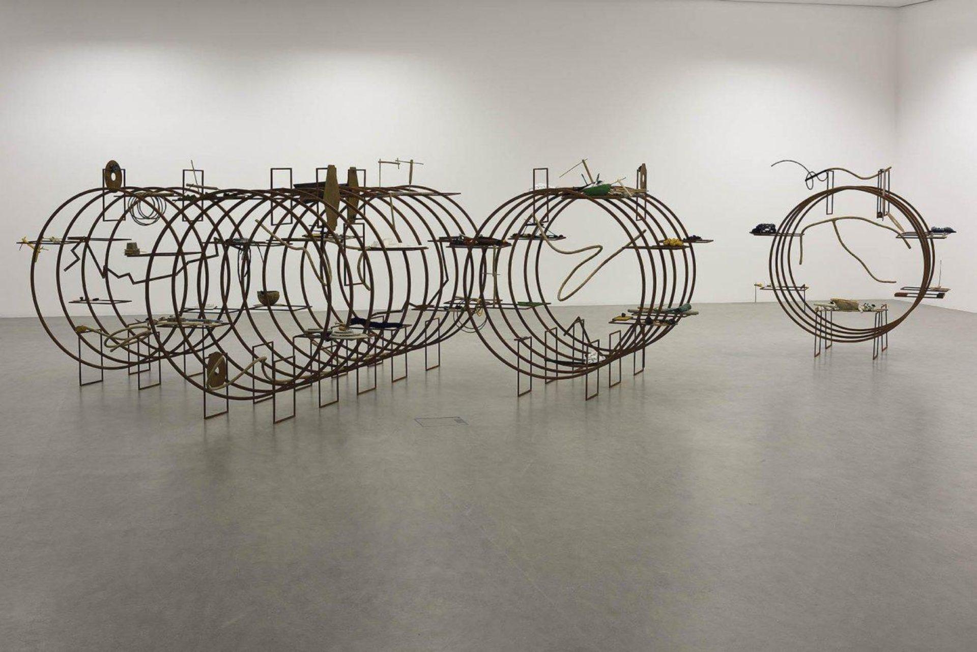 Iza Tarasewicz, Turba Turbo, 2015, Installationsansicht CCA Torun, 2016