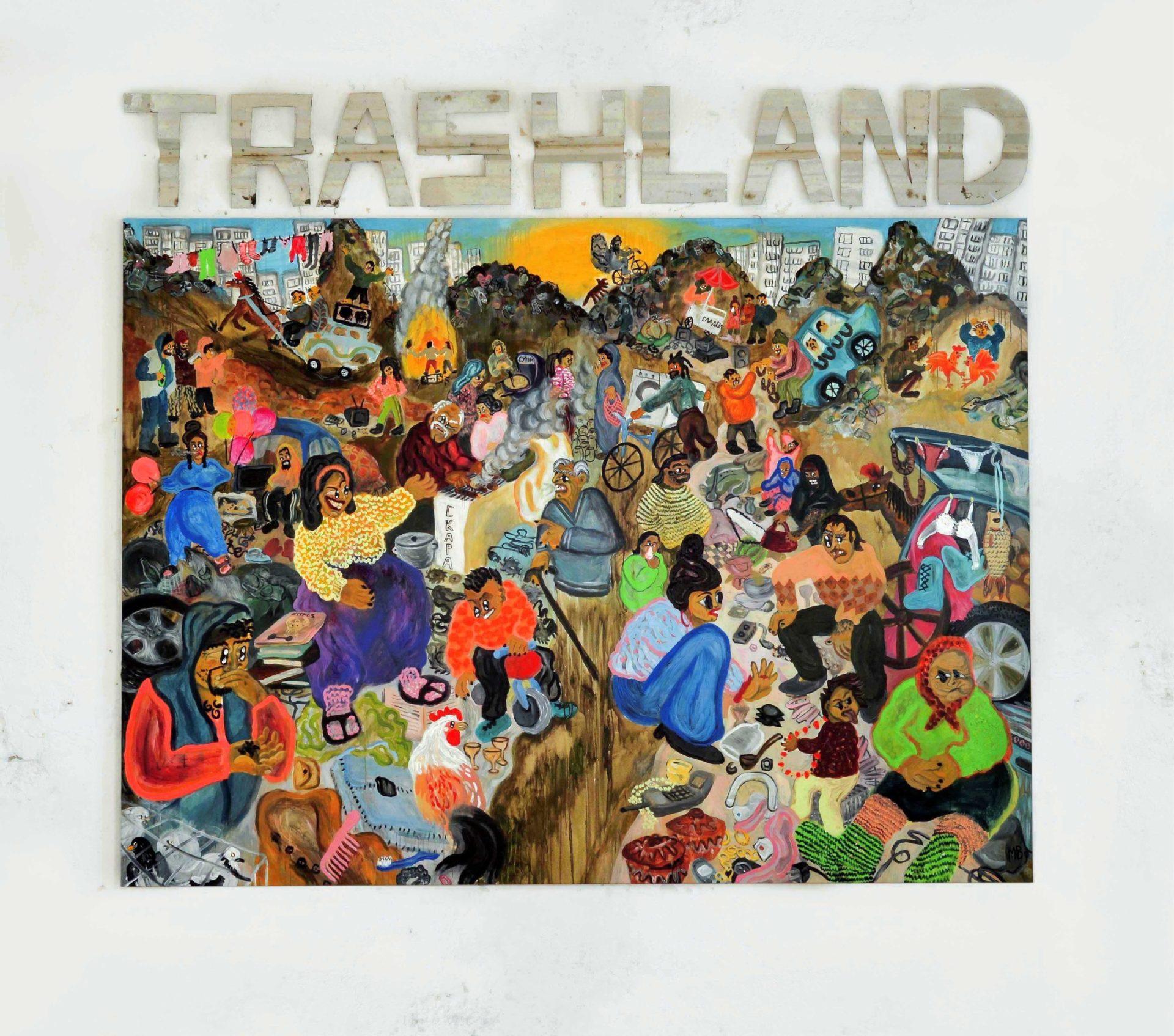 Trashland, 2020,  Martina Vacheva