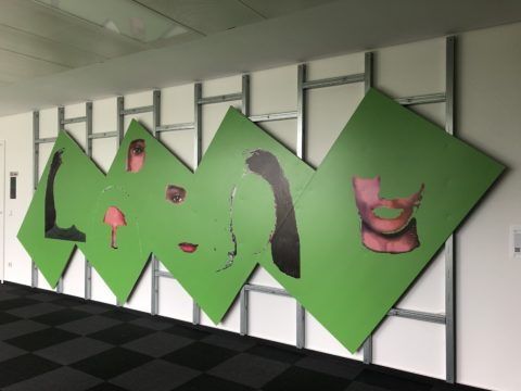 Gabriela Vanga, George, 2004/2021, Installationsansicht Headquarter DTAG